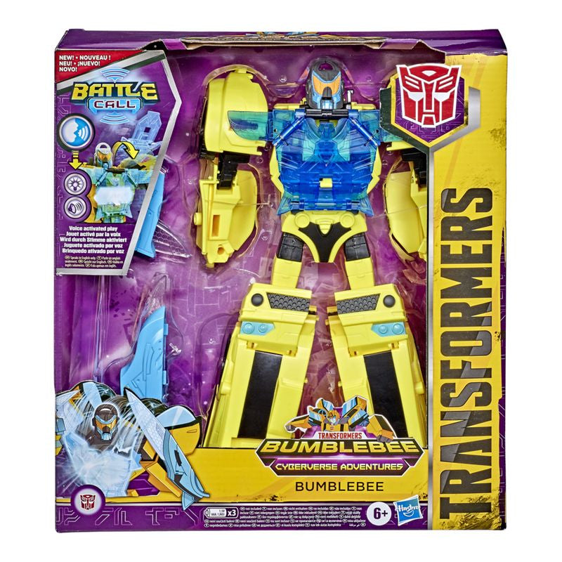 TRANSFORMERS CYBERVERSE BATTLE CALL OFFICER CLASS FIGURE BUMBLEBEE