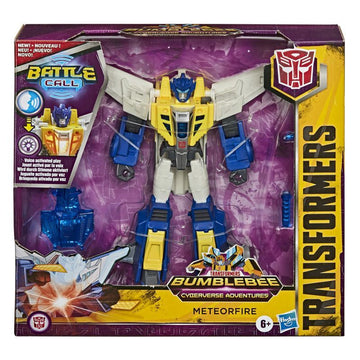 Transformers Cyberverse Battle Call Trooper Class Figure Meteorfire - Toyworld