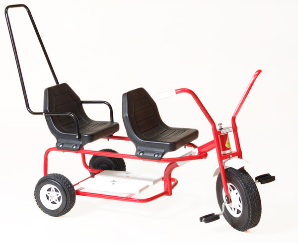 TRIANG TANDEM TRIKE RED