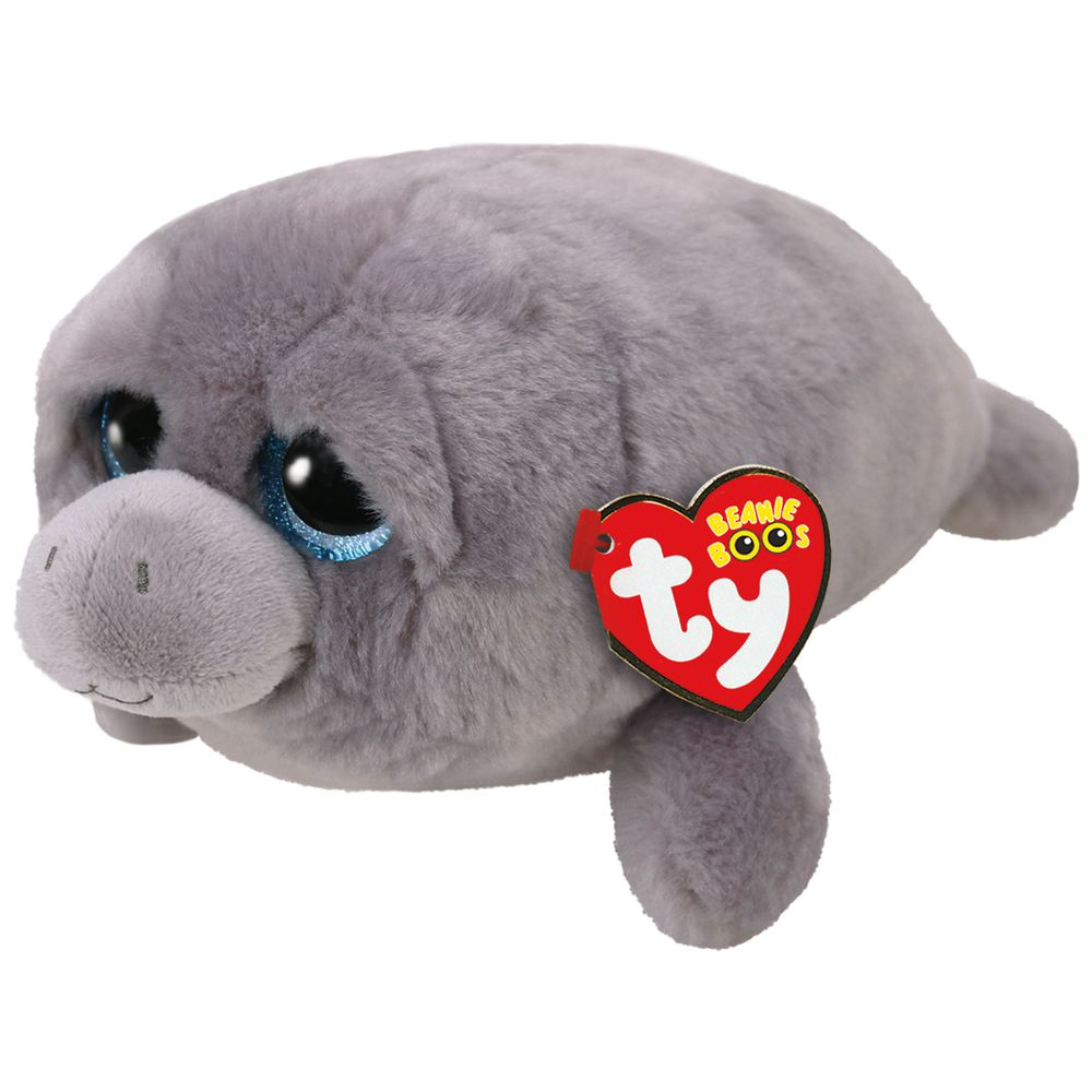 Ty Beanie Boos Babies Milo the Manatee - Toyworld