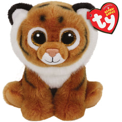 TY BEANIE BOOS BABIES TIGGS THE BROWN TIGER