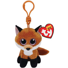 Ty Beanie Boos Clip on Slick the Fox - Toyworld