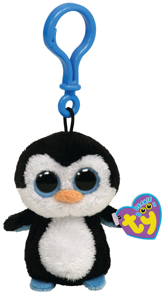 TY BEANIE BOOS CLIP ON WADDLES THE PENGUIN - Toyworld NZ