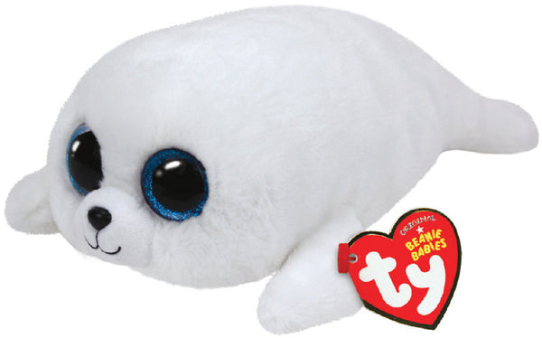 TY BEANIE BOOS ICY THE WHITE SEAL - Toyworld NZ