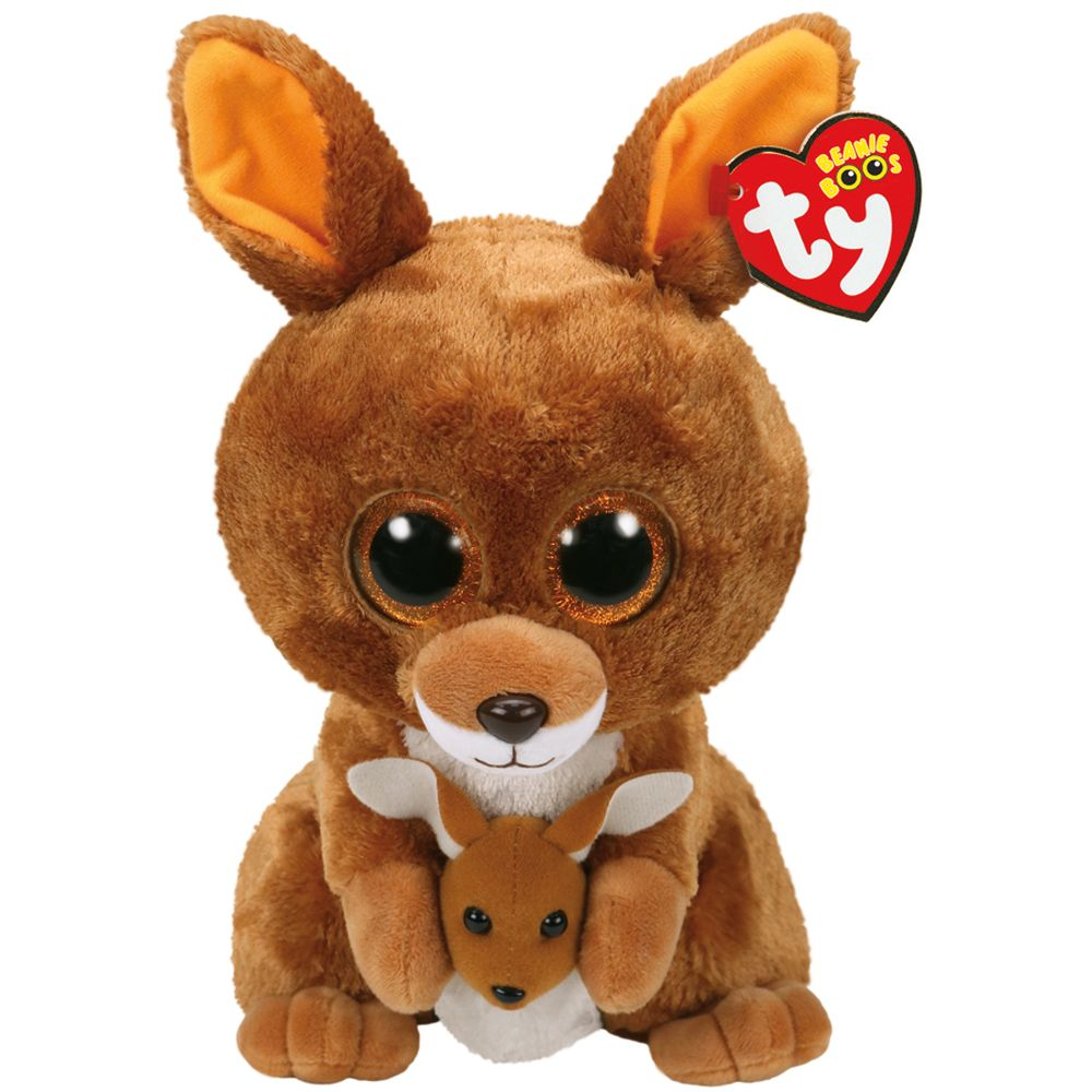 TY BEANIE BOOS KIPPER THE KANGAROO MEDIUM
