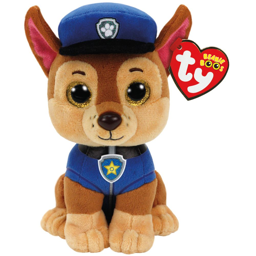 TY BEANIE BOOS PAW PATROL CHASE