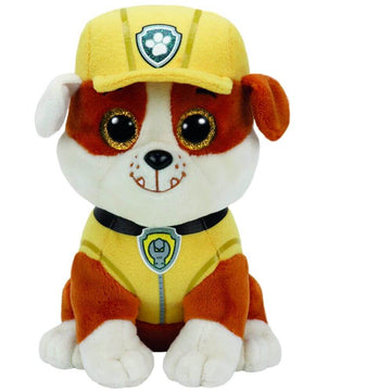 Ty Beanie Boos Paw Patrol Rubble - Toyworld