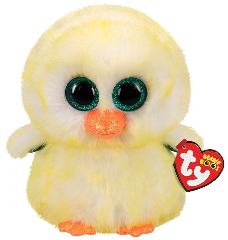 TY BEANIE BOOS LEMON DROP THE CHICK - Toyworld NZ