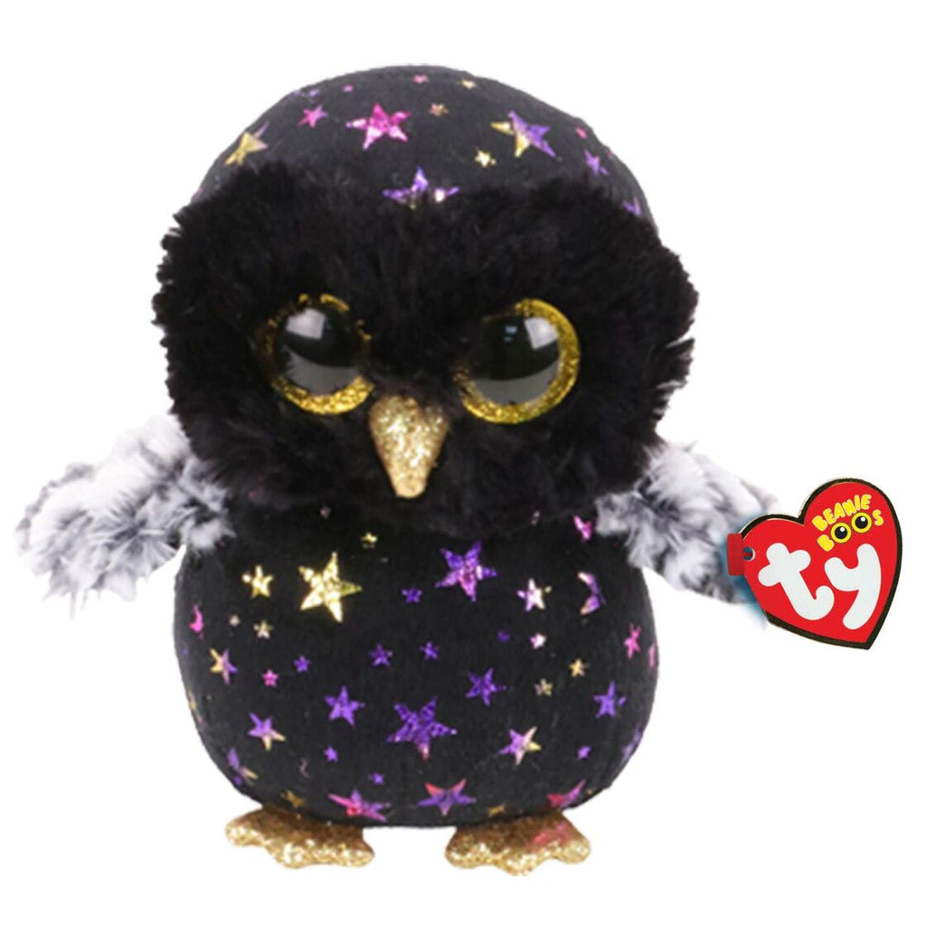 TY BEANIE BOOS HYDE THE OWL - Toyworld NZ