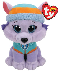 TY BEANIE BOOS PAW PATROL EVEREST MEDIUM