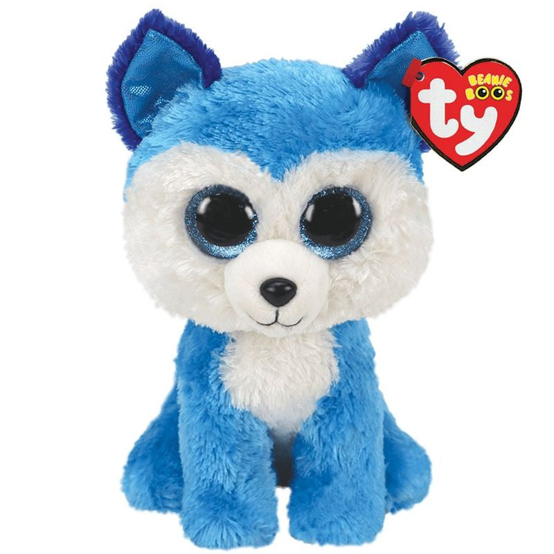 Ty Beanie Boos Prince the Blue Husky - Toyworld