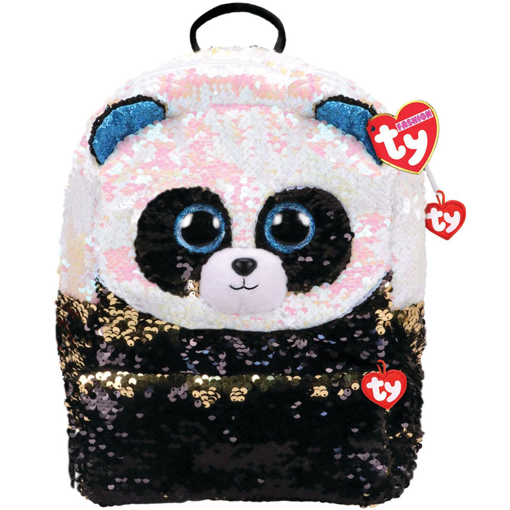 TY FASHION SEQUIN BACKPACK BAMBOO THE PANDA