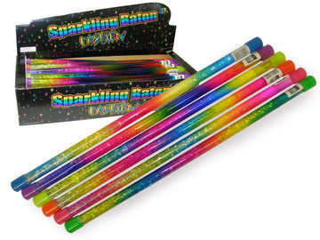 Uv Glitter Baton Assorted Styles - Toyworld