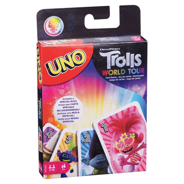 UNO TROLLS WORLD TOUR CARD GAME