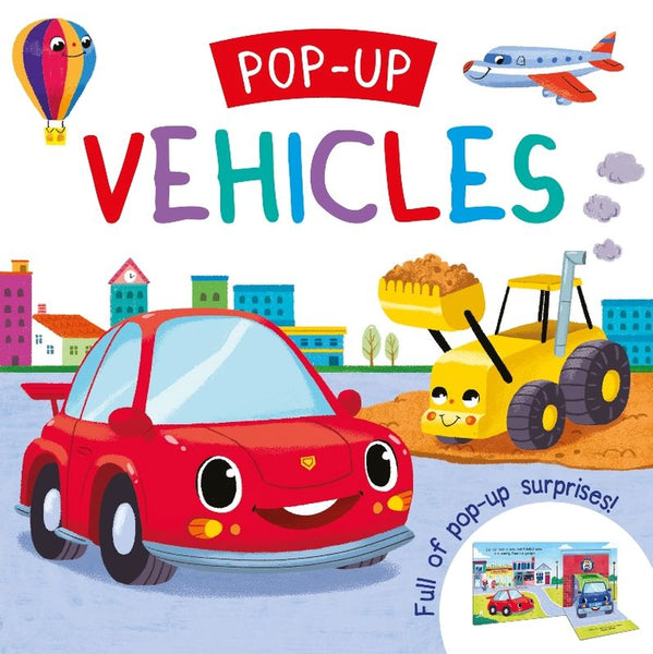 VEHICLES POP-UP BOOK