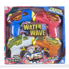 WATER WAVE WATER GUN 4 PACK