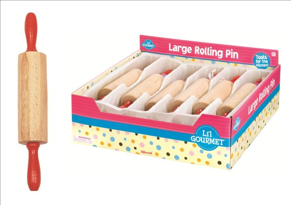Wooden Rolling Pin - Toyworld