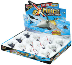 X-FORCE FIGHTER JETS ASSORTED STYLES