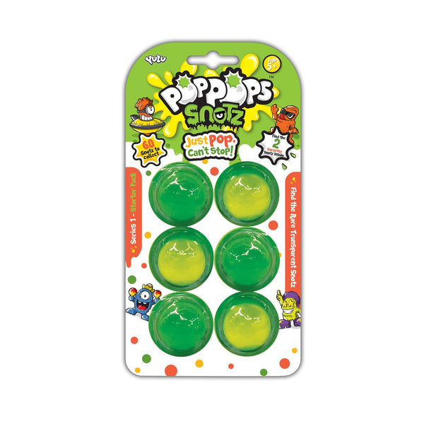 YULU POP POPS 6 PACK SNOTZ