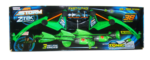 Zing Toys Air Storm Z Tek Bow Green - Toyworld