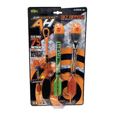 ZING TOYS AIR HUNTERZ SKY RIPPERZ 2PK