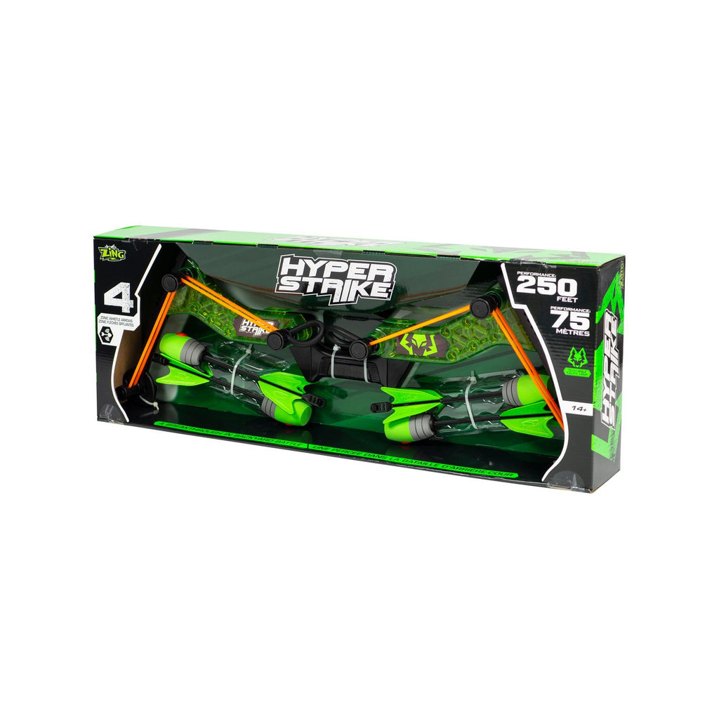 ZING TOYS HYPER STRIKE BOW ASSORTED STYLES