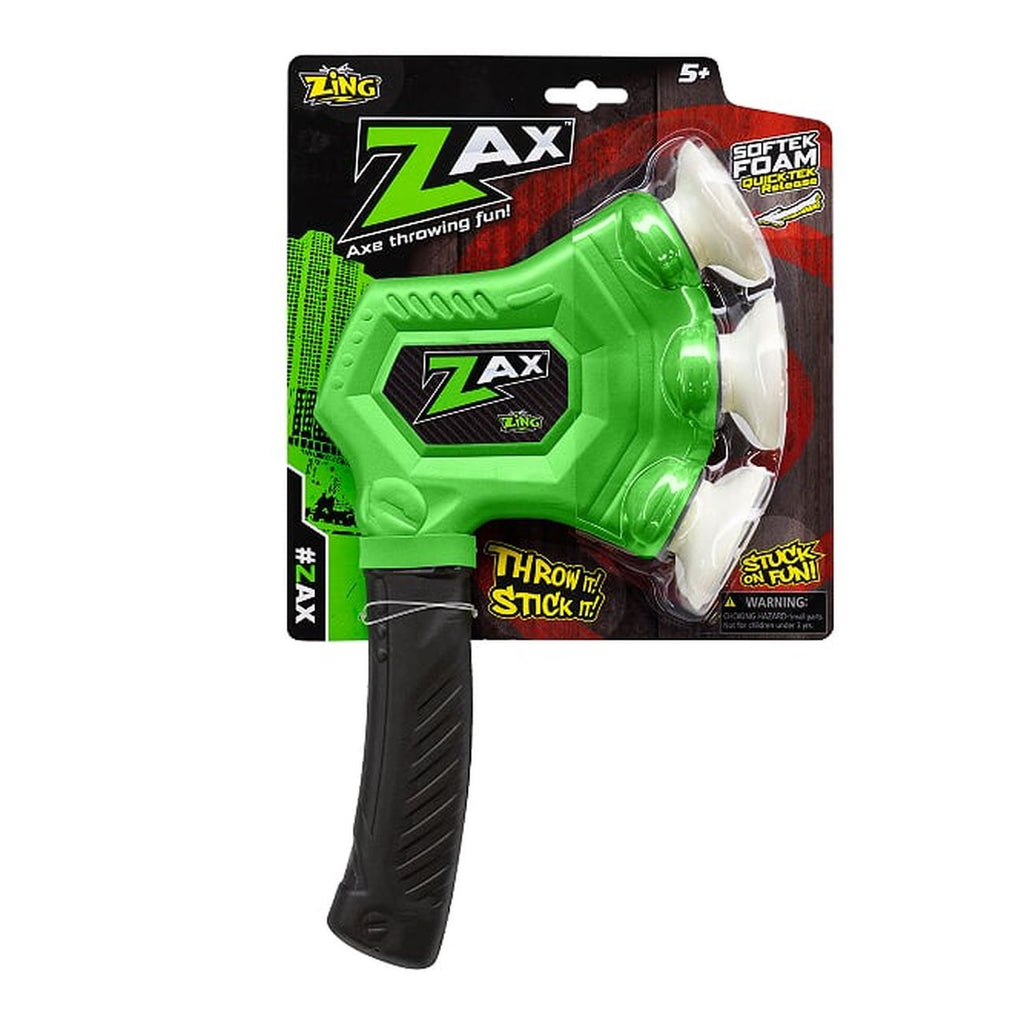 ZING TOYS ZAX THROWING AXE