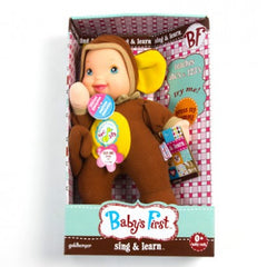 BABY'S FIRST SING & LEARN DOLL ASST
