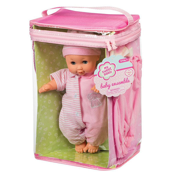 MY SWEET BABY DELXUE 11PC BABY ENSEMBLE ASSORTED STYLES