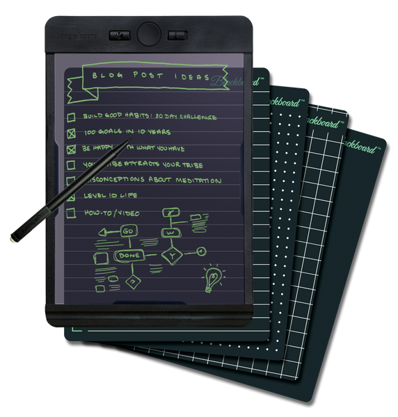 BOOGIE BOARD BLACKBOARD NOTE BLACK