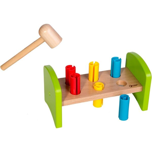 Classic World Rocking Pounding Bench - Toyworld