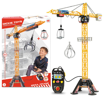 Dickie Toys Construction Rc Mega Crane - Toyworld