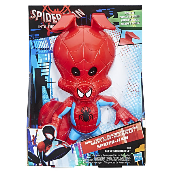 SPIDERMAN MOVIE SPIN VISION SPIDER-HAM FIGURE