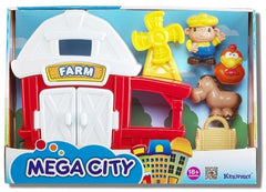 KEENWAY MEGA CITY PLAYSET ASST