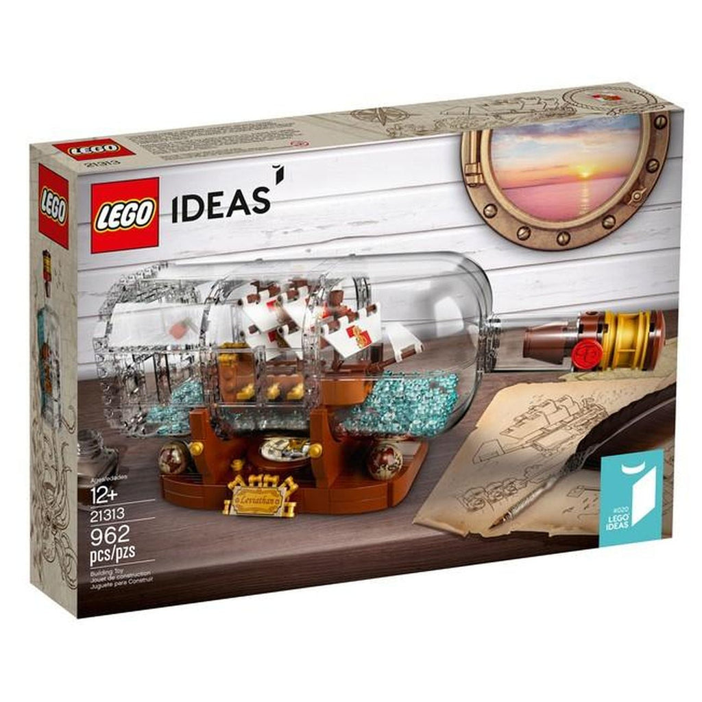 Lego Lego Ideas Ship in a Bottle - Toyworld