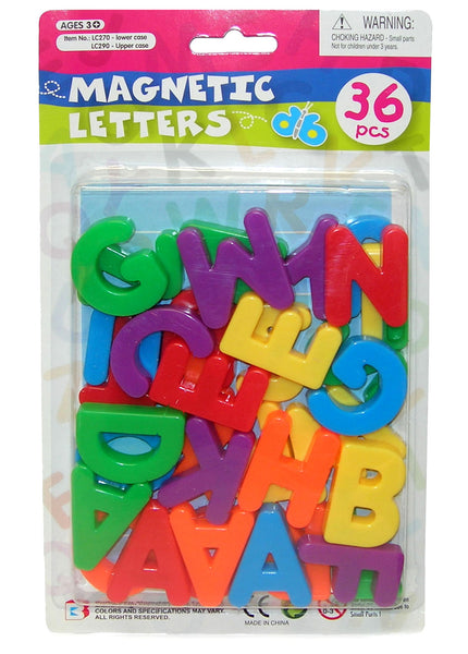MAGNETIC LETTERS UPPER CASE 36PCE