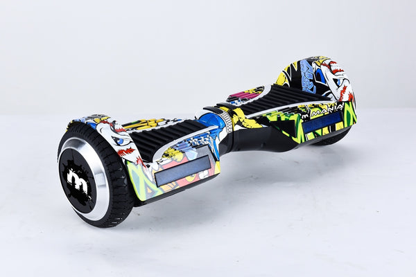 Mania Self Balancing Electric Hover Board Multiprint 2 - Toyworld