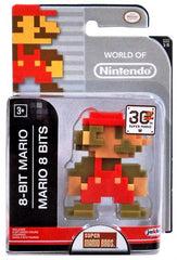 "WORLD OF NINTENDO 2.5"" FIGURE 8-BIT MARIO"