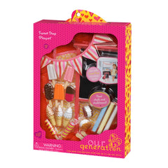 OUR GENERATION ACCESSORY SET SWEET STOP PLAYSET