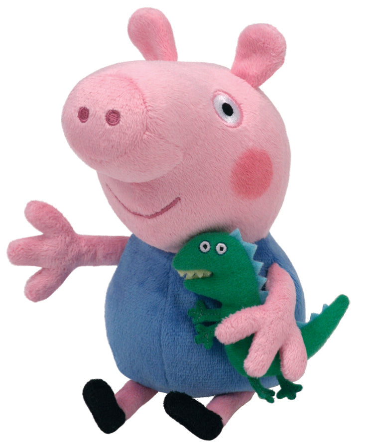 Ty Beanie Boos Peppa Pig George - Toyworld