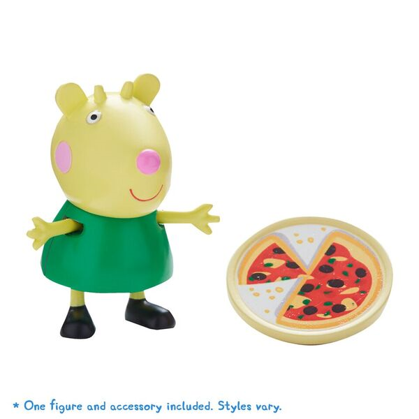 PEPPA PIG FIGURE & ACCESSORY GABRIELLA GOAT WITH PIZZA