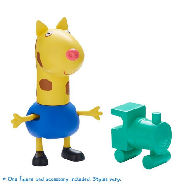 PEPPA PIG FIGURE & ACCESSORY GERALD GIRAFFE WITH TRAIN