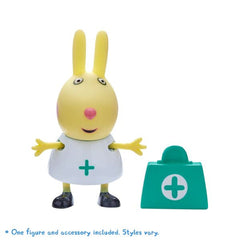 Peppa Pig Figure & Accessory Rita Rabbit with Doctor's Bag - Toyworld