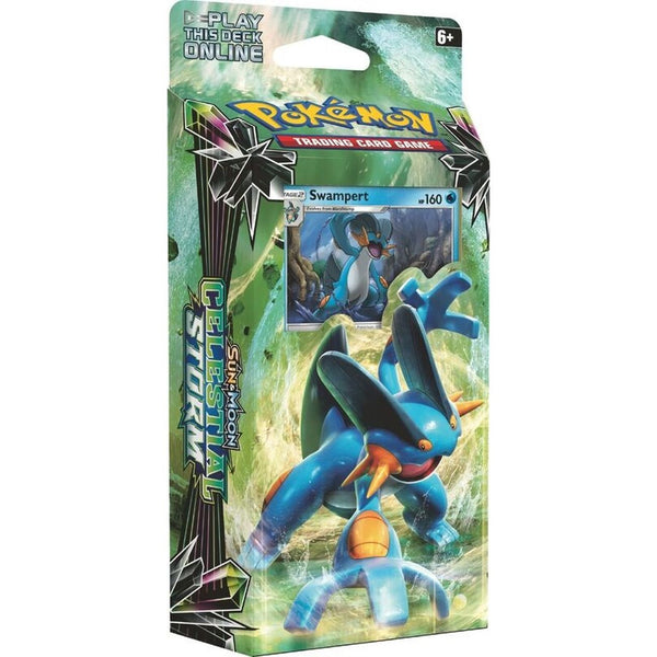 POKEMON TRADING CARD GAME SUN & MOON CELESTIAL STORM THEME DECK ASST