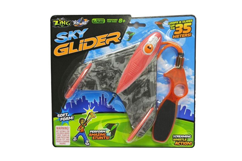 Zing Toys Sky Gliderz Single Pack Assorted Styles - Toyworld