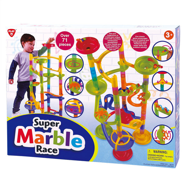 PLAYGO SUPER MARBLE RACE 70+ PCS