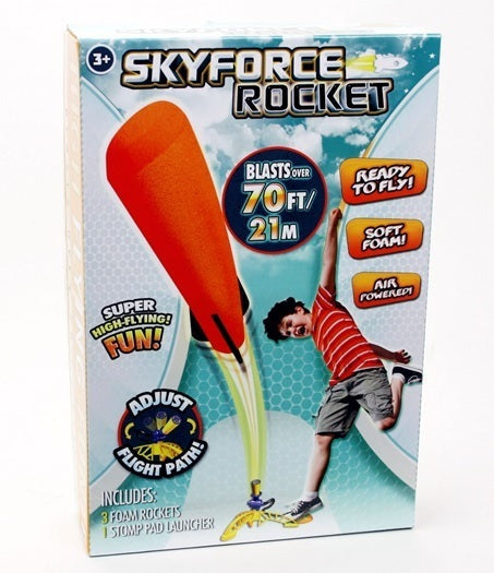 Skyforce Air Powered Stomp Rocket - Toyworld