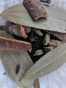 Cloves as a part of particular spice blend