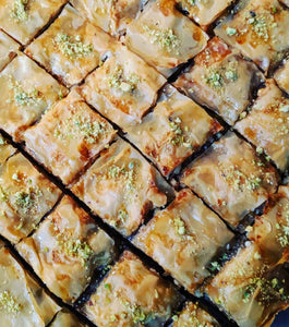 Baklava made with SpiceFix Cinnamon Powder