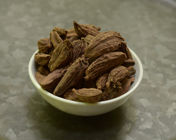Bowl of Black Cardamom